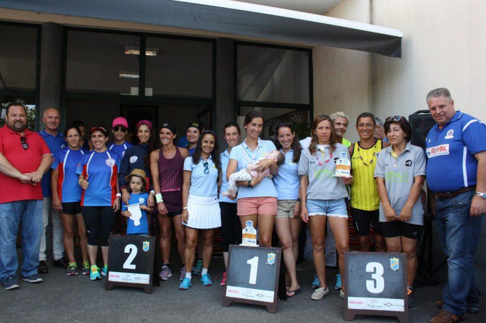 CAFH Venceu Madeira a Correr 2016/2017 colectivamente em femininos